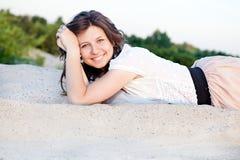 piękne dziewczyny się uśmiecha zdjęcia royalty free