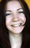 piękne dziewczyny się uśmiecha Zdjęcie Royalty Free