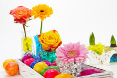 Piękne Easter dekoracje Fotografia Royalty Free