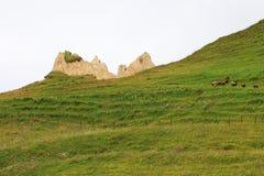 Piękne góry w Gusar regionie Azerbejdżan obrazy stock