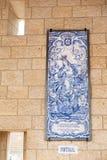 Piękne ikon mozaiki matka boga i dziecka Jezus gifte obraz stock
