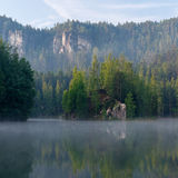 piękne jezioro Zdjęcia Royalty Free
