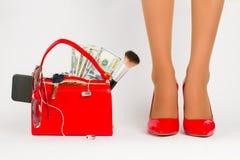 piękne kobiety nogi obraz stock