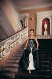 Piękne kobiety w odzieży xviii wiek Zdjęcie Stock