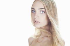 piękne kobiety young Blondynki Dziewczyna obraz royalty free