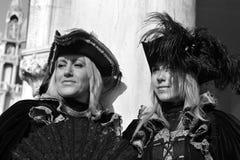 Piękne kobiety z maską w Wenecja, Włochy 2015 Fotografia Stock