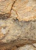 Piękne naturalne warstwy krakingowej rockowej tekstury naturalny tło Fotografia Stock