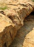 Piękne naturalne warstwy krakingowej rockowej tekstury naturalny tło Zdjęcia Royalty Free