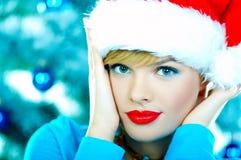 piękne niebieskie święta Obraz Royalty Free