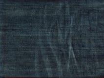 piękne niebieskie jeansy tło Obraz Royalty Free