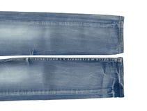 piękne niebieskie jeansy tło Obrazy Stock