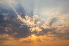 piękne niebo Zdjęcie Royalty Free