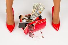 piękne nogi czerwone buty obrazy royalty free