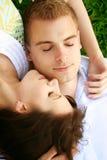 piękne pary się odprężyć Zdjęcie Stock