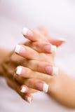 piękne paznokcie Obrazy Royalty Free
