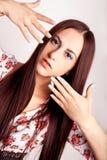 piękne paznokcie Zdjęcia Royalty Free