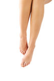 Piękne perfect kobiet nogi zdjęcie stock