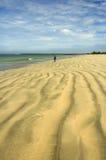 Piękne plaż linie Fotografia Royalty Free