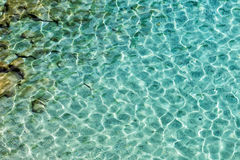 Piękne plaże Grecja, Tsigrado -, Milos wyspa zdjęcia stock