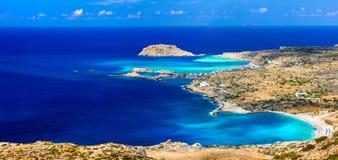 Piękne plaże Greckie wyspy obraz royalty free