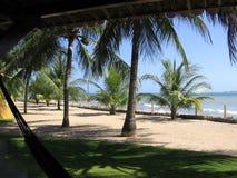 Piękne plaże serrambà północ Brazylia obrazy stock