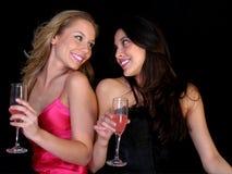 piękne przyjaciółki Zdjęcia Royalty Free