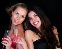 piękne przyjaciółki Zdjęcie Stock