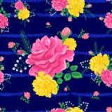 piękne różowe róże Zdjęcia Royalty Free
