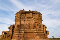 Piękne rzeźbić antyczne Jain świątynie budować w 6th wiek reklamie w Osian, India Obrazy Royalty Free