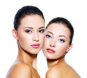 piękne seksowne holownicze kobiety Fotografia Stock