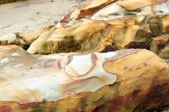 Piękne skał linie Obrazy Stock