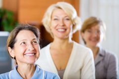 Piękne starsze kobiety Obraz Stock