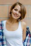 piękne uśmiechnięci młodych kobiet Obraz Royalty Free