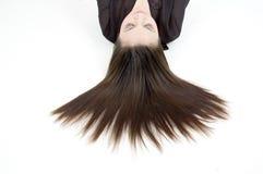 piękne włosy Obrazy Royalty Free
