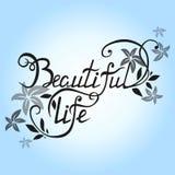 pięknego życia Zdjęcie Stock