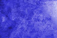 Pięknego Abstrakcjonistycznego Grunge stiuku Dekoracyjna błękitna Ciemna ściana Backg obrazy stock