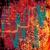 Pięknego abstrakta graffiti barwiony tło ilustracja wektor