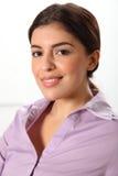 pięknego biznesowego headshot uśmiechnięci kobiety potomstwa Zdjęcia Royalty Free