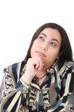 pięknego biznesu przyglądający portreta kobiety potomstwa zdjęcie stock