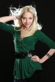 pięknego blondynu dłudzy kobiety potomstwa Obrazy Royalty Free