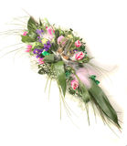 pięknego bukieta różni kwiaty bogaci Obrazy Royalty Free