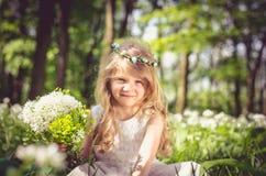 pięknego dziecka ilustracyjny mały wektor Zdjęcie Royalty Free