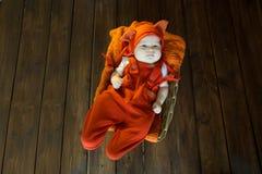 pięknego dziecka ilustracyjny mały wektor Fotografia Stock