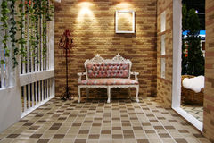 pięknego krzesła piękny ładny pokój Zdjęcia Royalty Free