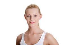 pięknego portreta nastoletnia kobieta fotografia stock