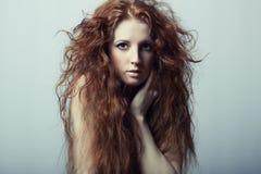 pięknego portreta piękni kobiety potomstwa Fotografia Royalty Free