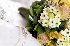 Pięknego rocznika ślubny bukiet Zdjęcie Royalty Free