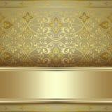 Pięknego rocznika bezszwowy deseniowy tło Obraz Stock