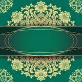 Pięknego rocznika kwiecisty tło Zdjęcie Royalty Free