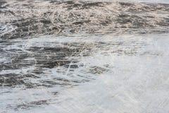 Pięknej abstrakcjonistycznej śnieżnej miecielicy dynamiczny wzór dla projekta, tła i tekstury, Obrazek robić przy lotniskiem Fotografia Royalty Free